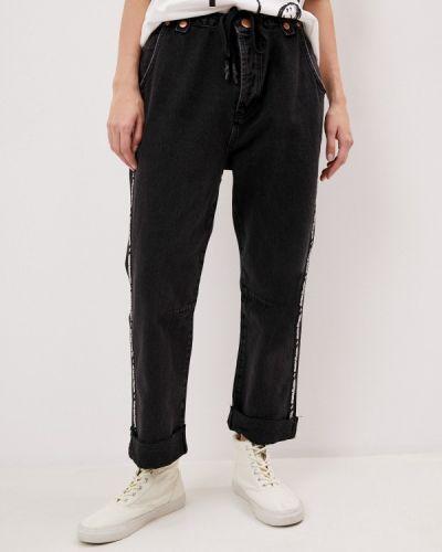 Черные прямые джинсы One Teaspoon