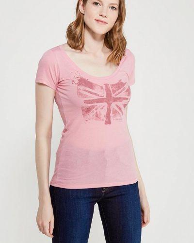 Розовая футболка Pepe Jeans