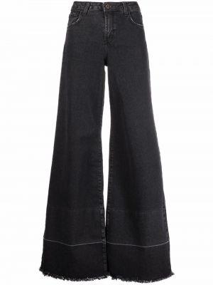Черные джинсы клеш расклешенные ..,merci