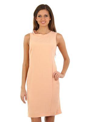 Платье из полиэстера - оранжевое Cerruti 18crr81