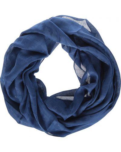 Синий шарф Emporio Armani