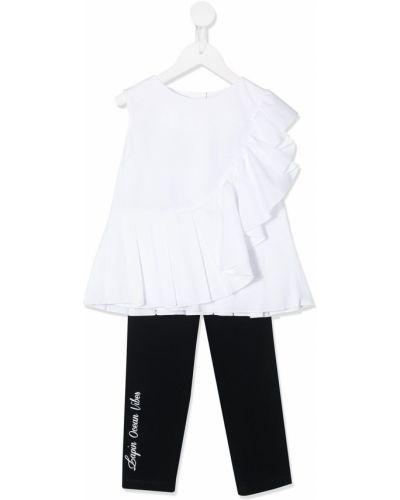 Костюмный белый домашний костюм Lapin House
