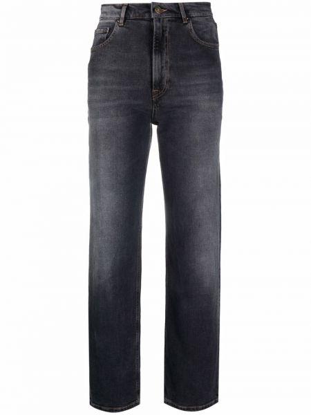 Джинсовые прямые джинсы - серые Haikure