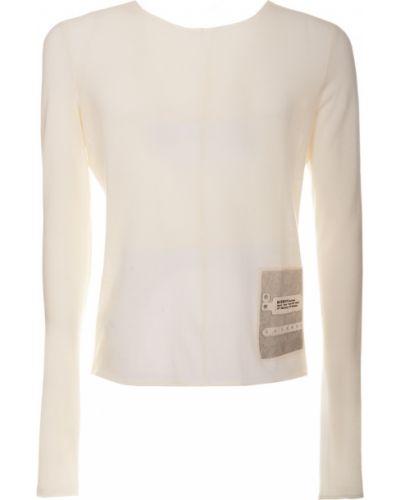 Beżowy t-shirt z długimi rękawami Misbhv