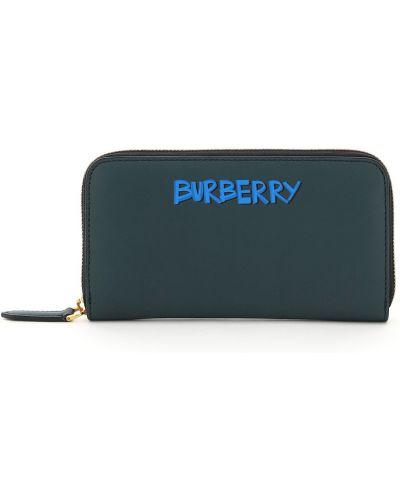 Zielony portfel Burberry