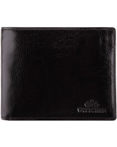 Кожаный кошелек - черный Wittchen