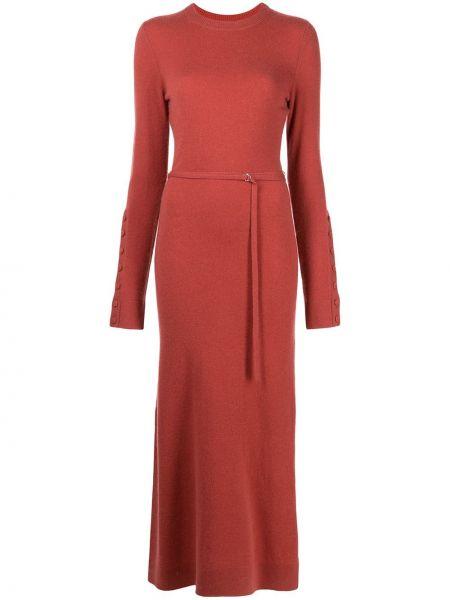 Sukienka długa zapinane na guziki Altuzarra