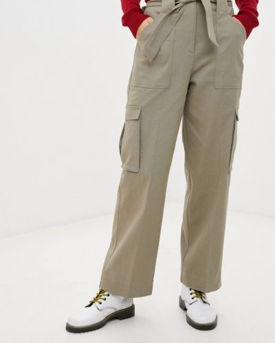 Зеленые брюки карго Pepe Jeans