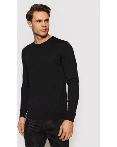 Sweter - czarny Hugo