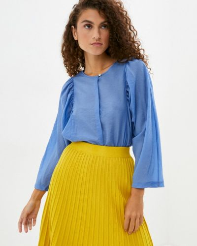 Блузка - голубая Part Two