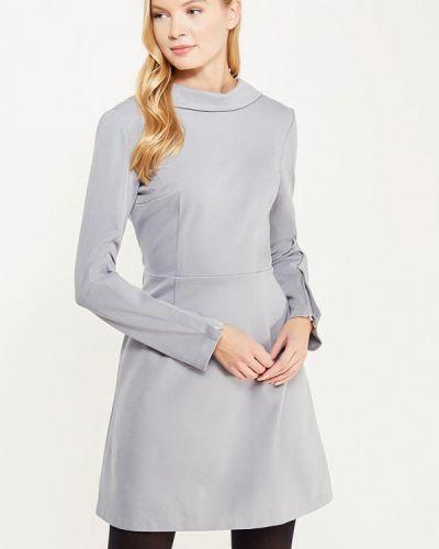 Прямое серое платье Lavlan
