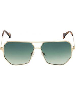 Zielone okulary Saturnino Eyewear