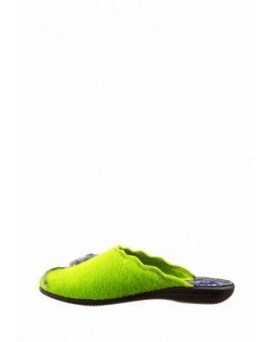 Домашние тапочки зеленый Inblu