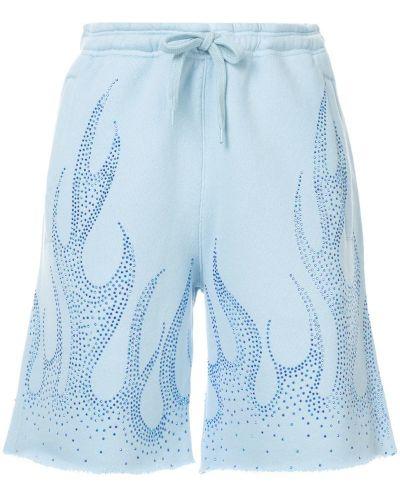 Однобортные шорты с карманами Filles A Papa