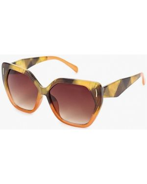 Муслиновые желтые солнцезащитные очки квадратные Marks & Spencer