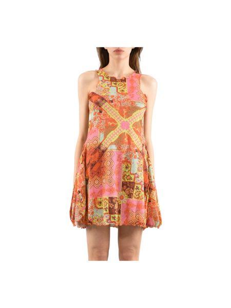 Różowa sukienka F**k