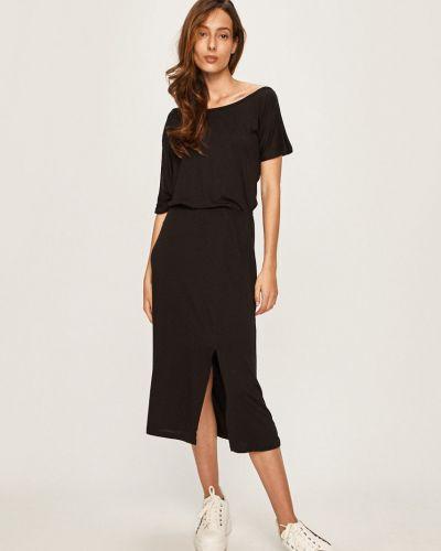 Платье с поясом из вискозы на резинке Answear