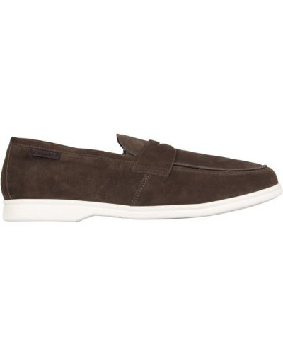 Zielone loafers Tom Ford