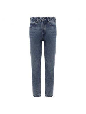 Синие хлопковые джинсы Boss