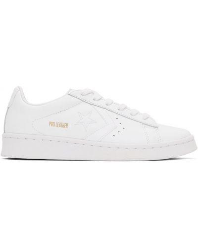 Кожаные кроссовки - белые Converse