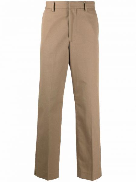 Spodnie bawełniane - beżowe Acne Studios