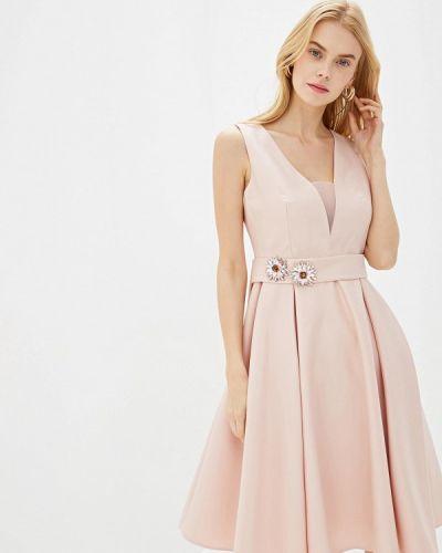 Вечернее платье розовое турецкий Lusio