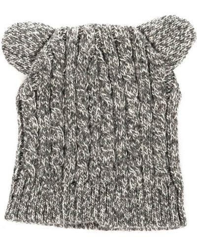 Szary beret wełniany Koton