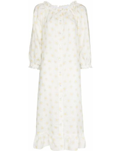 Biała sukienka długa Sleeper