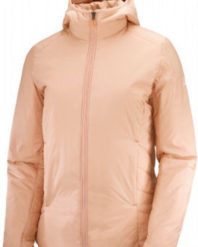 Оранжевая куртка осенняя Salomon