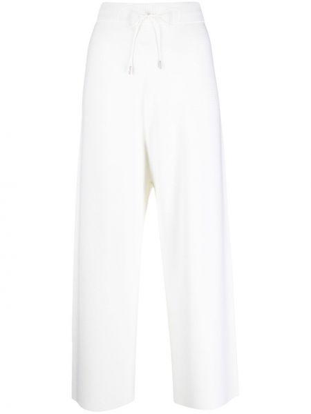 С завышенной талией трикотажные белые брюки Fabiana Filippi