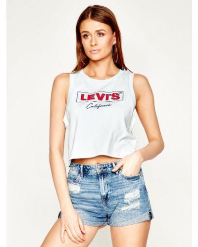 T-shirt - niebieska Levi's