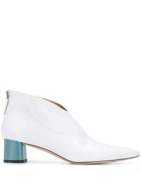 Buty na obcasie na pięcie z ostrym nosem Emilio Pucci