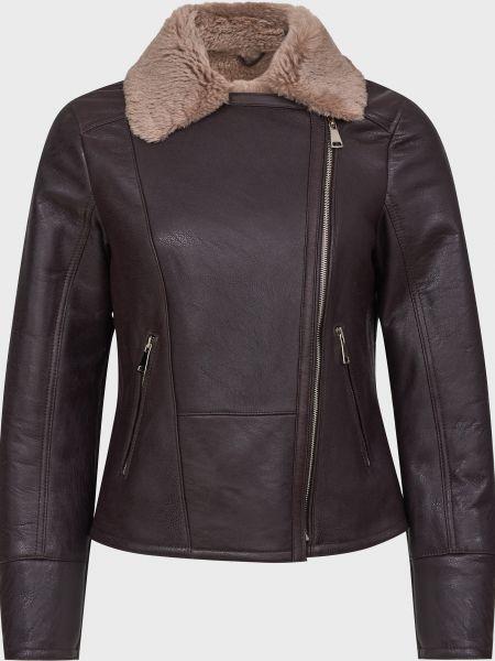 Кожаная куртка - коричневая Gallotti