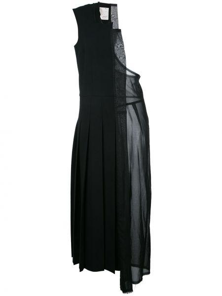 Платье прозрачное на одно плечо винтажное без рукавов Comme Des Garçons Pre-owned