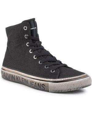 Jeansy dżinsowa czarny Calvin Klein Jeans