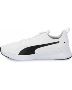 Белые текстильные тренировочные кроссовки на шнуровке Puma