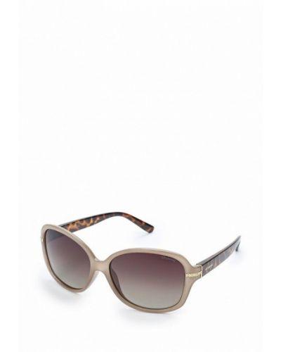 Бежевые солнцезащитные очки Polaroid