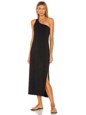 Трикотажное платье миди - черное Seafolly