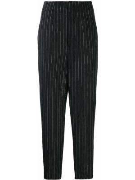 Lniane lniane spodnie - niebieskie Enfold