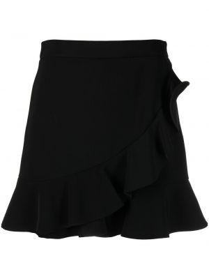 Черные с завышенной талией шорты Boutique Moschino