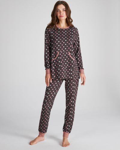 Пижама с принтом - розовая Ellen