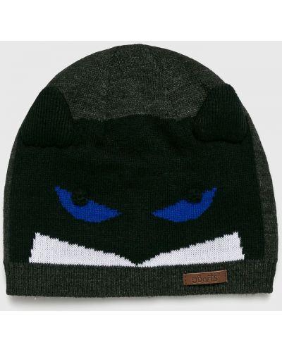 Зимняя шапка облегающий серая Barts