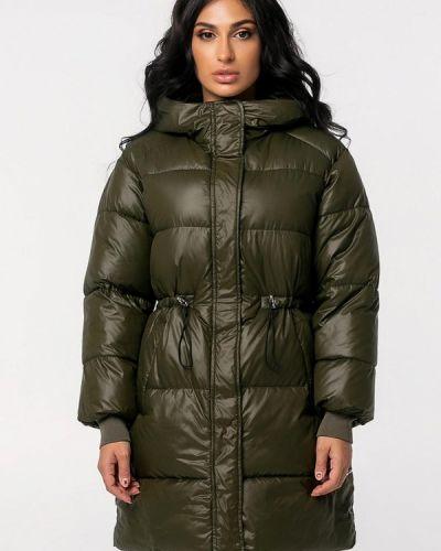 Теплая зимняя куртка хаки Whitefox