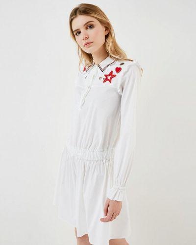 Платье с длинными рукавами весеннее Twin-set Simona Barbieri