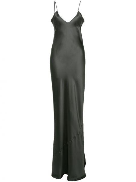Платье макси платье-комбинация с V-образным вырезом Nili Lotan