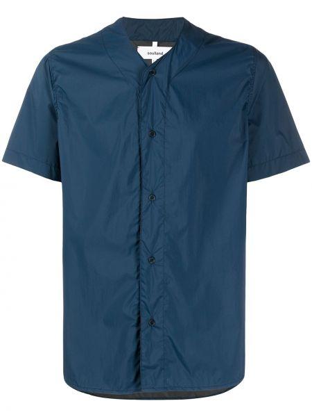 Koszula krótkie z krótkim rękawem prosto światło Soulland