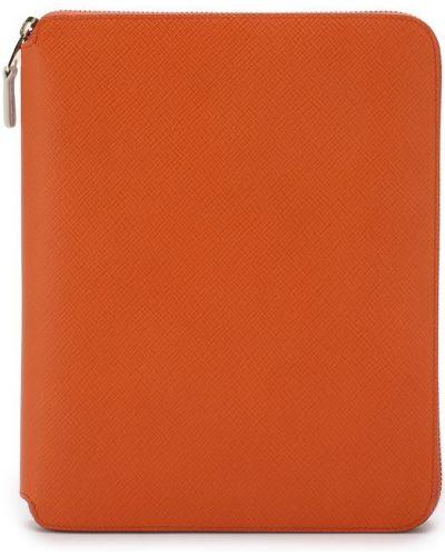 Оранжевая папка Smythson