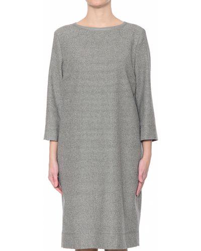 Платье шелковое осеннее Bogner