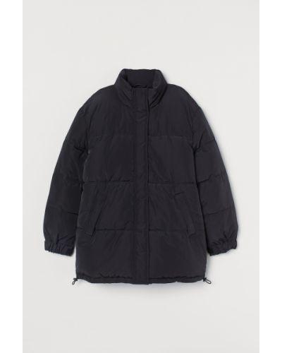 Куртка оверсайз - черная H&m