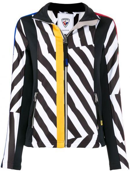 Спортивная куртка черная на молнии Rossignol